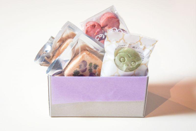 焼き菓子3種類の詰め合わせ